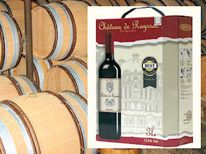 Bag-in-Box of vin de pays TVSA